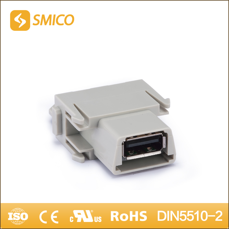 SMICO China Online Selling Polycarbonate Material Custom Usb Female Connector