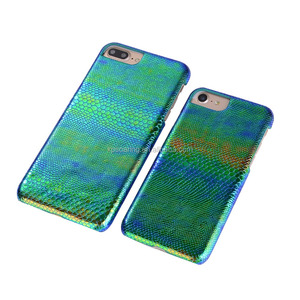 Snake skin leather case back cover for iPhone 6 6 Plus, PU leather cover for iPhone 7 7 Plus