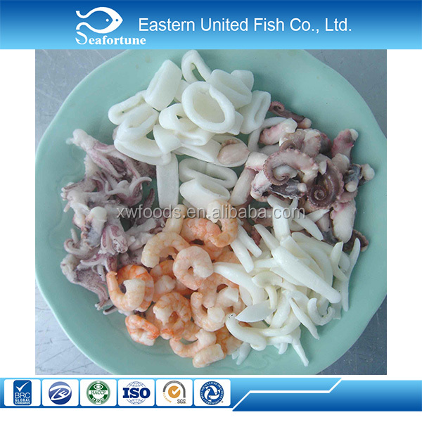 Seafood Export Iqfy frozen mix of sea food