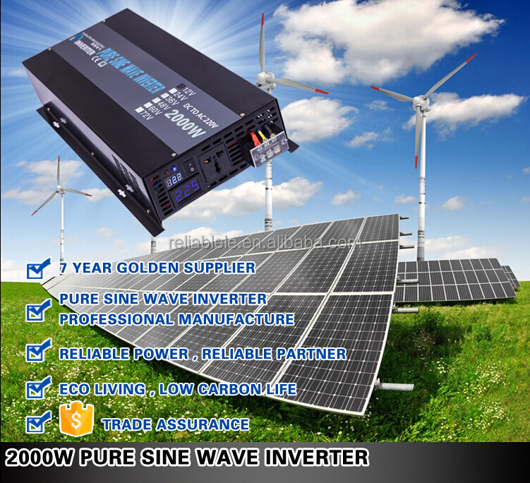 600w AC to DC pure sine wave inverter/converter for car power/solar panel