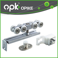 OPK Hot Sale Wooden Door pulley wheels Furniture Sliding Top Hanger Roller