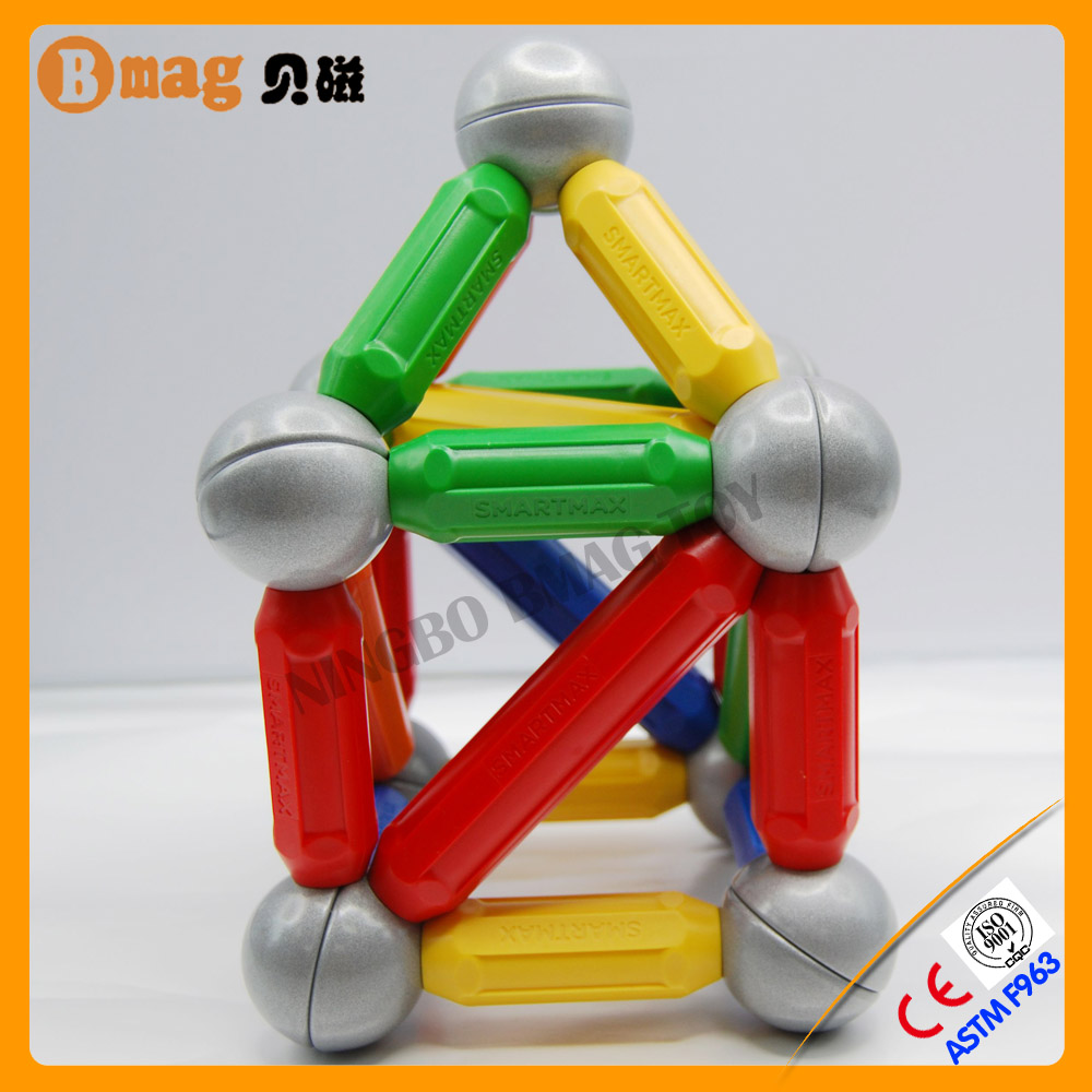 Factory offer directly plastic flexible magnet stick and ball toy