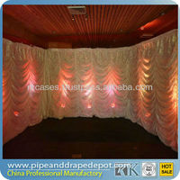 high quality portable pipe and drape backdrop in wedding /event decorations