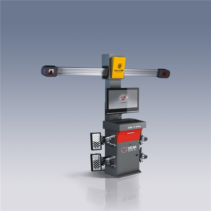 manual wheel alignment equipment machine 3D-718S for making car wheels
