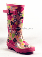Candy rain shoes with high heel for kids
