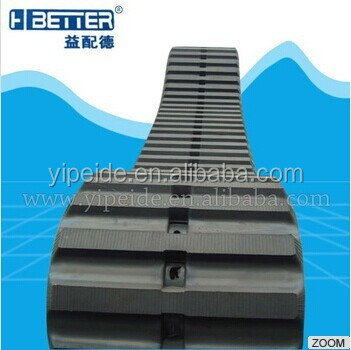 Heavy Duty Cater Hitachi EX200 Excavator Rubber Track Pad