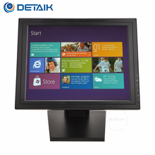 Detaik CE certificate 15 inch USB 5 Resistive Touch Screen Monitor