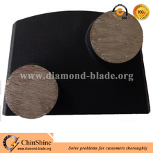 China stone floor metal diamond grinding pads and grinding shoes supplier