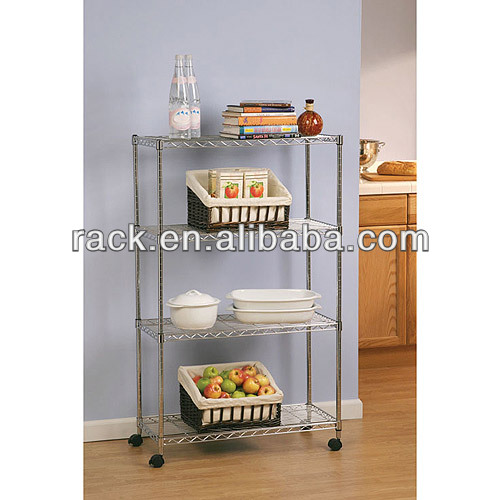 NSF Free Standing Decorative Kitchen Shelves with High Quality