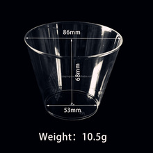 8oz 9oz 12oz 16oz disposable drinking clear plastic cups