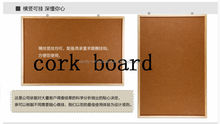 Soft wood board pins display board bulletin board