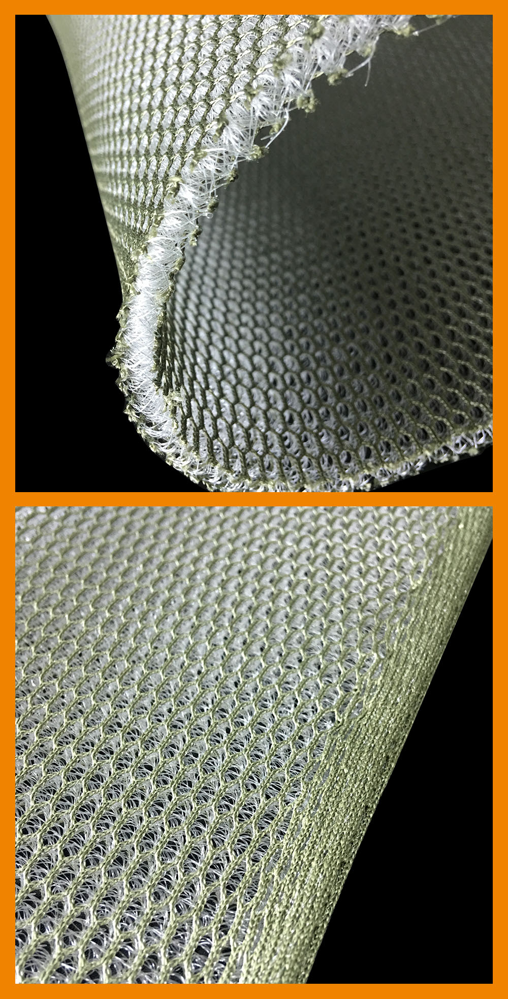6mm thickness air conditioning 3d breathable mesh fabric for body armour