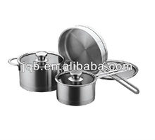 Thermometer stainless steel cookware set/ kitchenware set / pan set