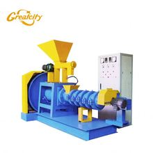 automatic home-used floating fish feed pellet mill extruding machine for fish farm