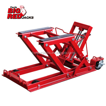 400 Kgs ATV/Motorcycle Jack T66751-CE (With 4 pcs belts)