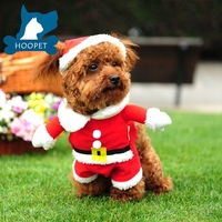 Christmas decoration Pet dog cloth winter cloth warm clothes