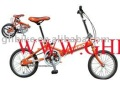 "16"" cheaper CE single speed folding bike"