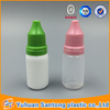 10ml empty PE plastic eye dropper bottle with tample evident cap
