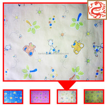 100 Cotton textile flannel fabric baby diaper 20*10 manufacturer