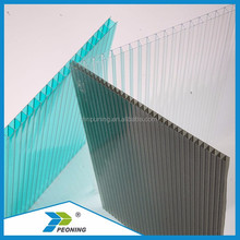 high warranty Polycabonate sheet hollow PC sheet 100% virgin Bayer material