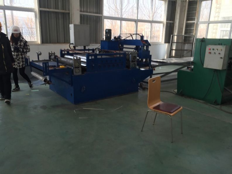 metal roller door cold simple cutting machine