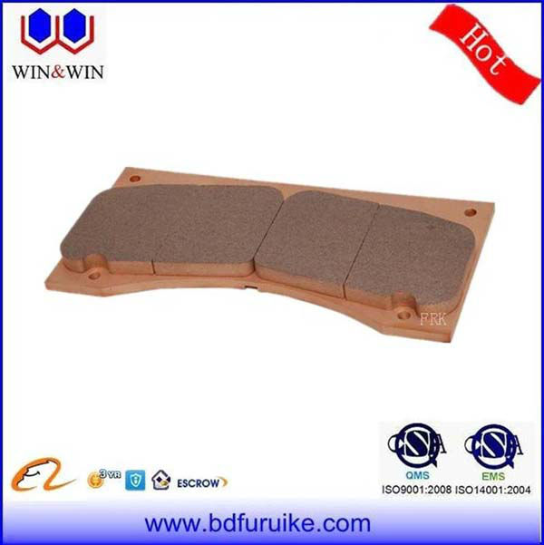 Home wind turbine friction ceramic brake pads