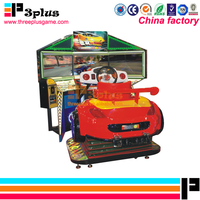 Hot sale 32'' LCD arcade simulator car racing game machine