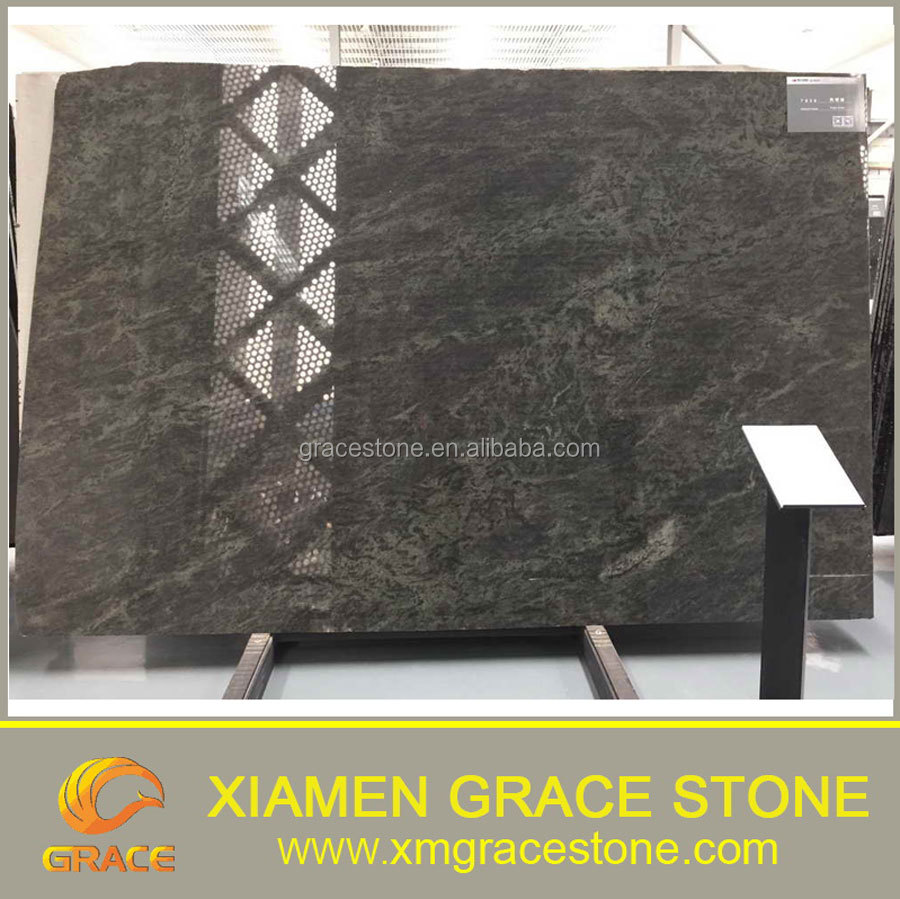Cheap Tropical Green Granite stone Slab price