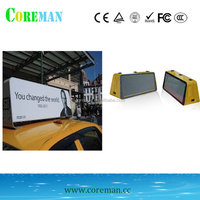 led taxi roof sign p3 rgb smd led panel 192x192 a3 advertising screen p3 led video wall