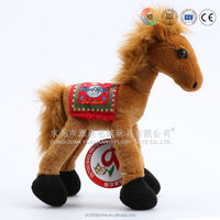 OEM custom made large size plush standing horse toy