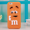 Cute 3d silicone phone case make silicone case