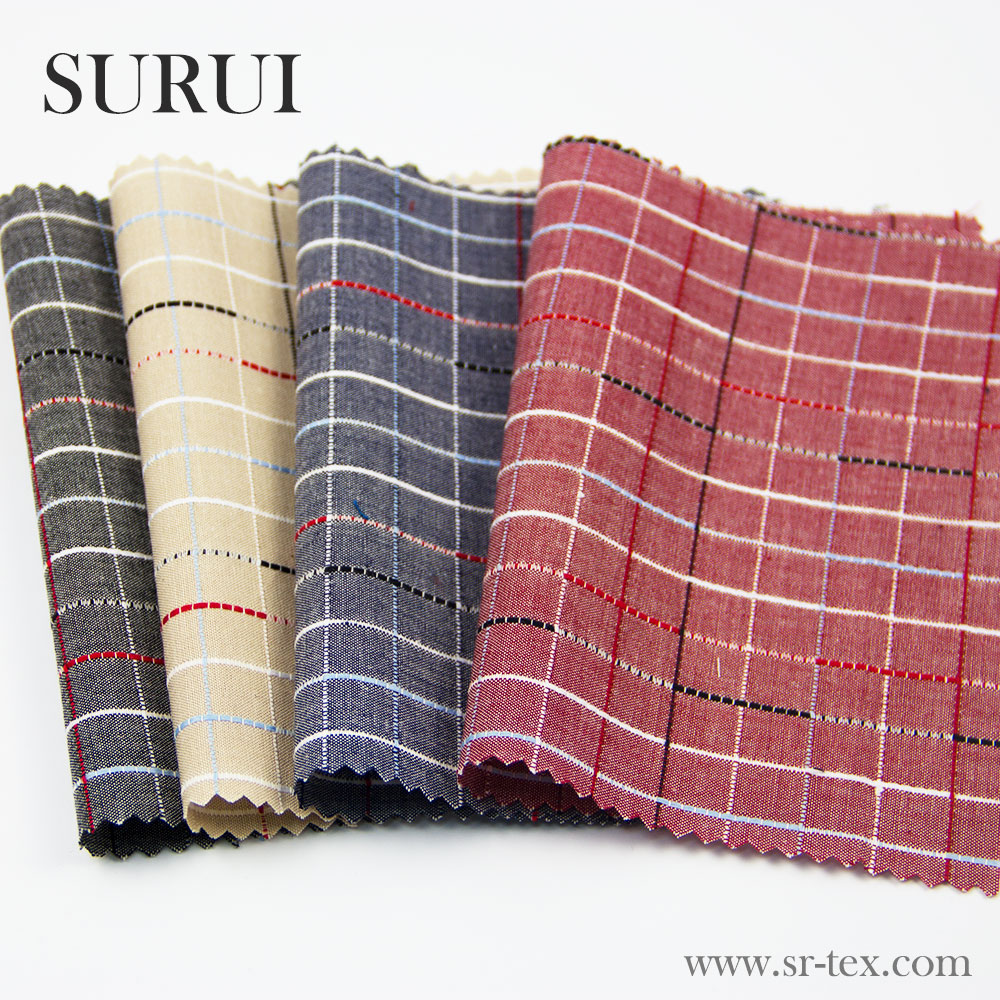 100 cotton plaid jacquard shirt fabric price per meter buy cotton fabric yarn dyed fabric. Black Bedroom Furniture Sets. Home Design Ideas