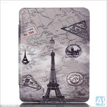 High Quality Printed Tri Fold PU Leather Case for New AMAZON Kindle Oasis Wholesaler from China