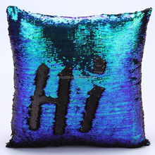 free sample sequins pillow/ Sequin & Comfy Satin Pillow Cover Hidden Zipper Design/Two colors Sequin pillow cover
