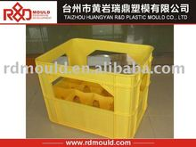plastic injection beer crate/case mould