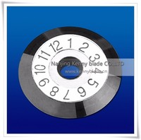 Carbide Tipped Saw paper cutting blade for steel Features