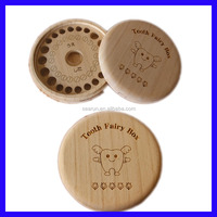 Wholesale Wooden Baby Tooth Box