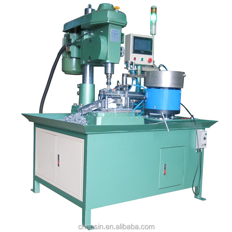 Easy controled high performance low maintainance cost nut tapping threading machine hot sale CX-6516