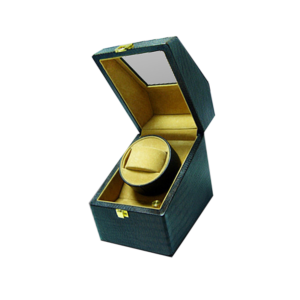 Factory Hot Sale Pu Leather Single Automatic Watch Winder