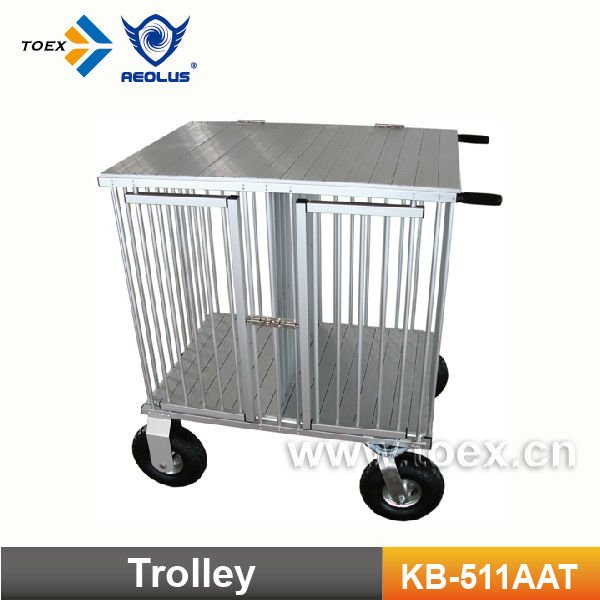 Aluminum Dog Trolley Dog Cage