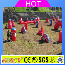 Airpark Cheap Inflatable Air Tight Used Paintball Bunkers For Sale