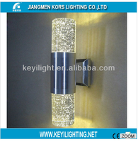 Fashion innovative crystal-rod stainless steel outdoor wall exterior lamps,wall led light(WL31022)