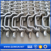 stainless steel wire mesh conveyor belt made in china