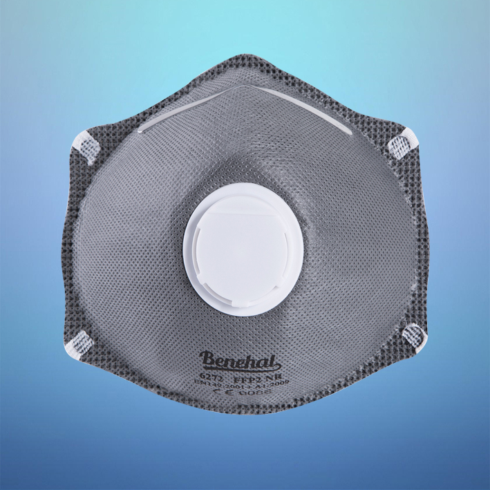 Exhalation Valve FFP2 Dust Protective Mask with Activated Carbon