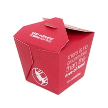 Disposable insulated take away food grade <strong>paper</strong> box packaging