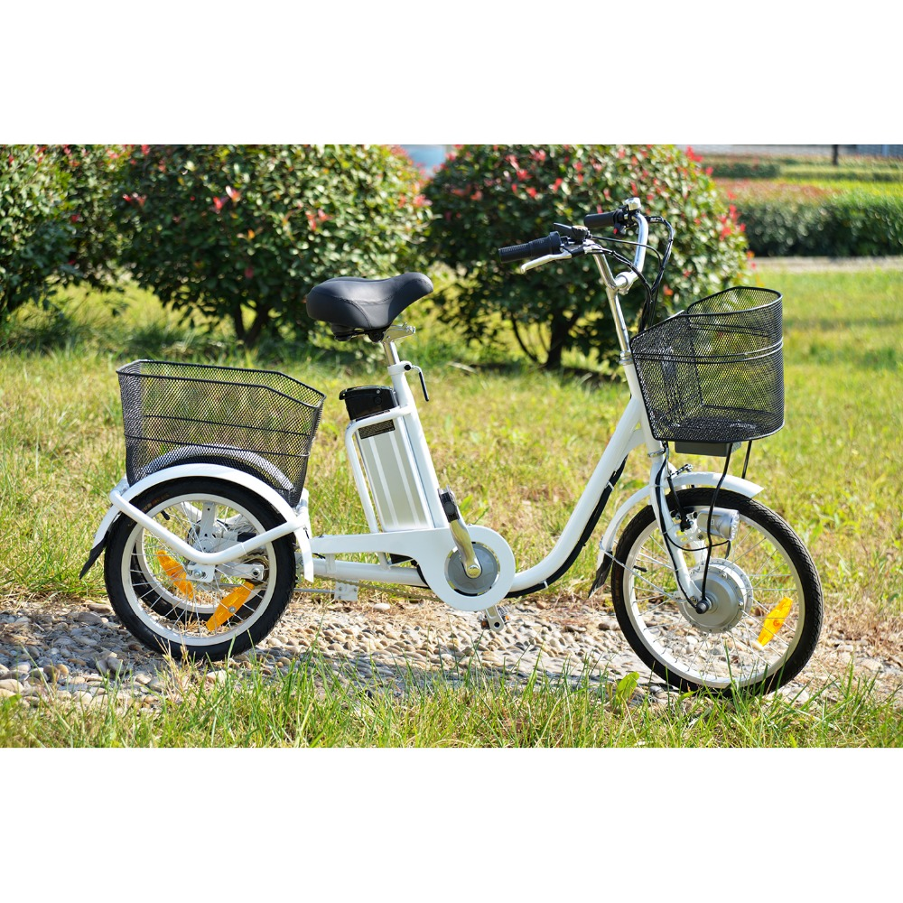 2015 new hot selling 3 wheel motorized bike electric cargo trike three electric cargo tricycle