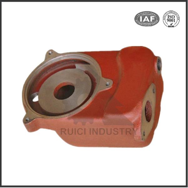 Customized cast iron disel fuel injection pump parts casting