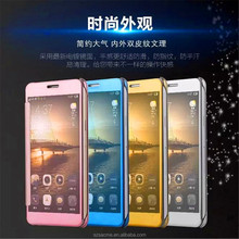 China Suppliers Clear View Mirror Smart Cover Flip Case for Samsung Galaxy Note 3 Clear View Case