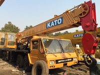 very good condition Used Construction machine KATO Crane NK400E for sell