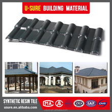 3 layers Lasting color synthetic resin shiny roof tile